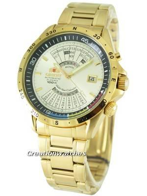 Orient Automatic Multi Year Calendar FEU03000CW Mens Watch