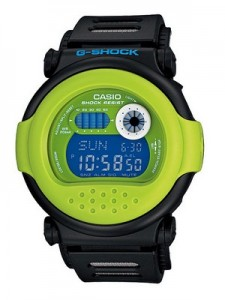 Casio G-Shock World Time Digital G-001HC-1C Crazy Color Mens Watch