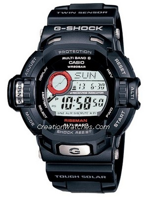 Casio G Shock Radio Atomic Controlled G Riseman GW-9200J-1JF Watch