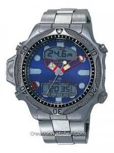 Citizen Aqualand Diver Depth Meter Promaster JP1010-51L JP1010 Watch