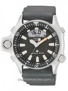 Citizen Aqualand Diver Promaster JP2000-08E JP2000 Depth Meter Watch