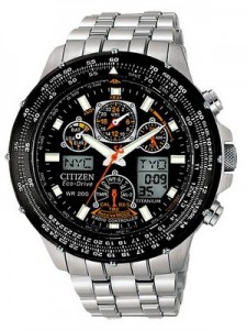 Citizen Skyhawk Eco Drive Radio Controlled JY0010-50E JY0010 Promaster Titanium Men's Watch