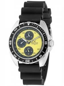 Nautica Yellow Multifunction N07564G Men's Watch