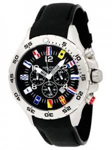 Nautica NST Flag Chronograph Watch