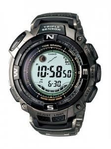 Casio Protrek Triple Sensor PRG-130T-7VDR PRG130T-7V PRG130 Tide Graph Tough Solar Titanium Watch