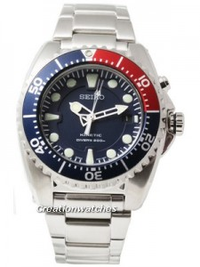 Seiko Kinetic Diver's Watch 200m SKA369P1 SKA369P SKA369
