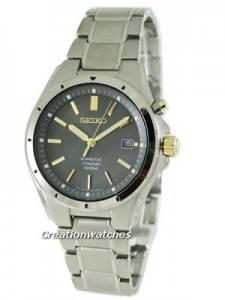 Seiko Kinetic Titanium SKA495P1 SKA495P SKA495 Mens Watch