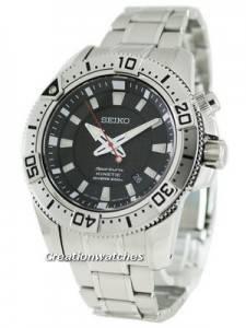 Seiko Kinetic Sportura Diver's SKA509P1 SKA509 SKA509P Mens Watch
