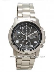 Seiko Titanium Military Chronograph SNA113P1 SNA113P SNA113 Men's Watch