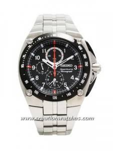 Seiko Sportura Alarm Chronograph SNAD23P1 SNAD23P Watch