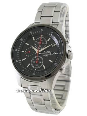 Seiko Chronograph 100M SNDE27P1 SNDE27P SNDE27 Mens Watch