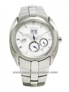 Seiko Arctura Kinetic Perpetual Calendar SNP029P1 SNP029P SNP029 Men's Watch