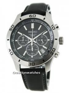 Seiko Classic Chronograph SSB049P2 Mens Watch
