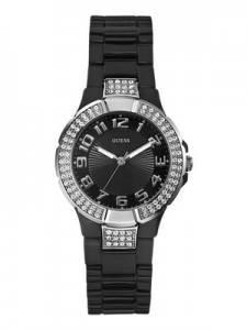 Guess Black Sports Crystal U95198L2 Womens Watch