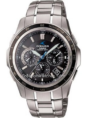Casio Tough MVT Radio Atomic Controlled Oceanus Manta OCW-S1200-1AJF