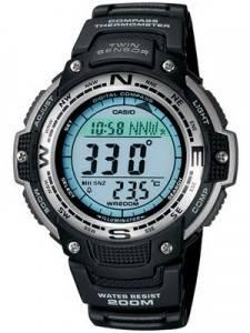 Casio Protrek Compass Thermometer SGW-100-1VDF SGW-100-1 SGW100 200M Men's Sports Watch
