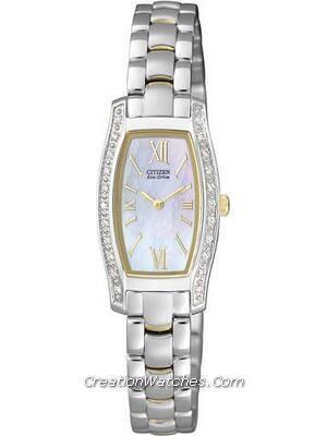 Citizen Women's Eco-Drive Diamond EG2558-57D EG2558 Watch