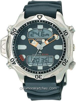 Citizen Aqualand Diver Depth Meter Promaster JP1010-00E JP1010 Watch