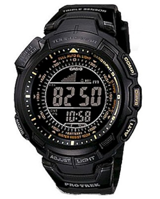 Casio Pro Trek Tough Solar Triple Sensor 100m Watch PRG-110Y-1V