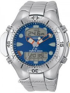 Citizen Aqualand Diver Depth Meter Promaster JP1060-52L JP1060