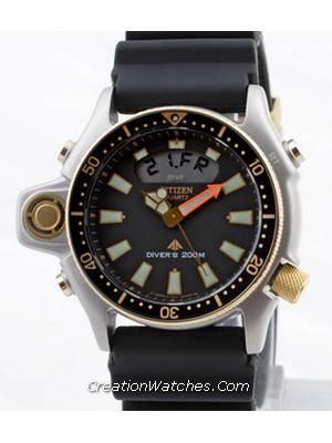 A Review of Citizen Aqualand Diver Depth Meter Promaster JP2004-07E JP2004