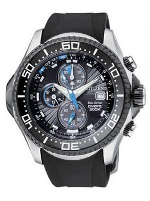 Citizen Promaster Eco Drive Aqualand Chronograph Diver's Watch BJ2110-01E BJ2110-01 BJ2110