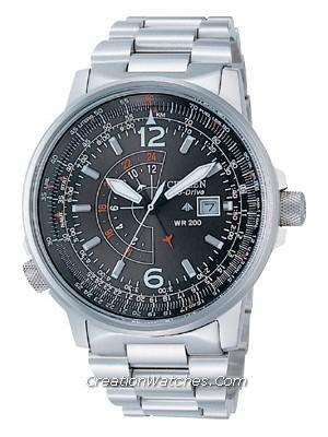 Citizen Promaster Eco Drive NightHawk BJ7010-59E BJ7010 Watch