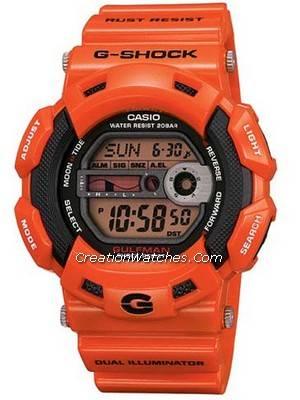 Casio G-Shock Rare Gulfman Watch G9100 G9100R G-9100R-4DR