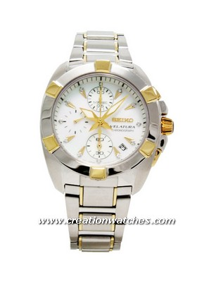 Seiko Velatura Chronograph SNDZ40P1 SNDZ40P SNDZ40 Ladies Diamonds Collection Watch