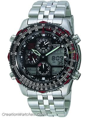 Citizen Promaster Sky Navihawk JN0004-51E JN0004 World Time Men's Watch