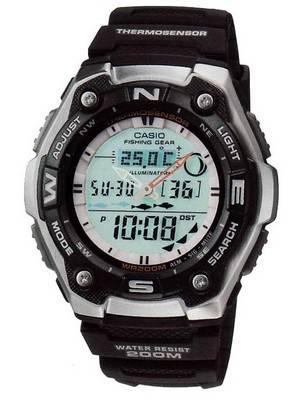 Casio Fishing Gear AQW-101-1AVDR AQW-101-1 Men's Watch