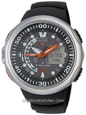 Citizen Diver Depth Meter Promaster Cyber Aqualand JV0000-01E