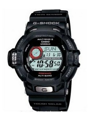 Casio G-Shock Riseman Tough Solar Altimeter G-9200-1DR G9200-1DR