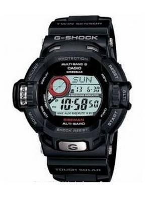 Casio G-Shock Riseman Tough Solar Altimeter G-9200-1DR G9200-1DR
