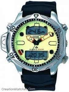 Citizen Aqualand Diver Depth Meter Promaster JP1010-00W JP1010