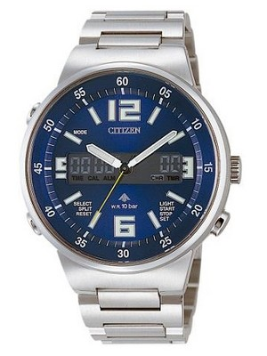 Citizen Promaster Ana-Digi Alarm Chronograph JT3000-59L JT3000-59 Men's Watch