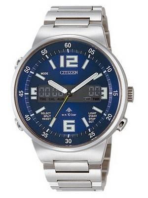 Citizen Promaster Ana-Digi Alarm Chronograph JT3000-59L JT3000-59 Men's Watch
