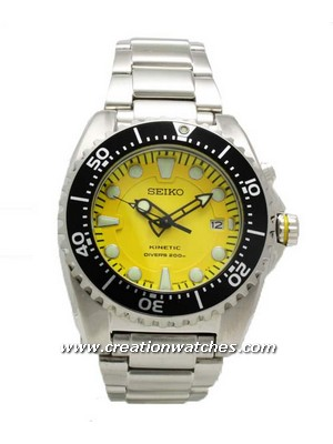 Seiko Kinetic Diver's Watch 200m SKA367P1 SKA367P SKA367