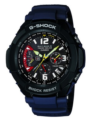 Casio G-SHOCK GW-3000B-2AJF GW-3000B-2A Sky Cockpit Solar Atomic Watch