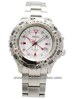 Seiko Kinetic Conceptual Multifunction Pilot's Watch SKA421P1