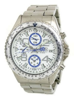 Seiko Chronograph Pilot's SZER005 Men's Watch