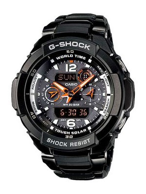 Casio G-Shock Gravity Defier G-1250BD-1ADR G-1250BD-1A Men's Watch