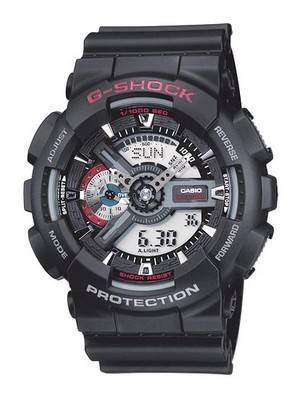 Casio G-Shock World Time Analog Digital GA-110-1A GA110 Men's Watch