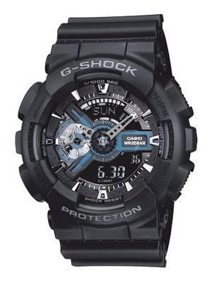 Casio G-Shock GA-110-1B GA-110-1 Men's Watch