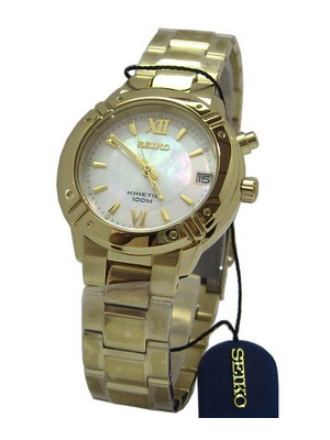 Seiko Kinetic SKA882P1 SKA882 SKA882P Women's Watch