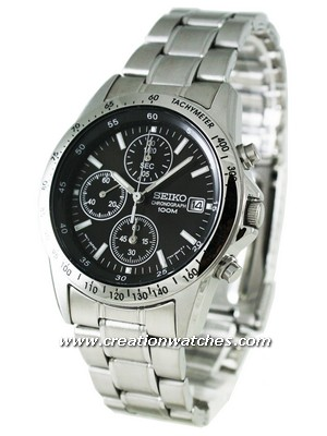 Seiko Chronograph SND367P1 SND367P SND367 Men's Watch
