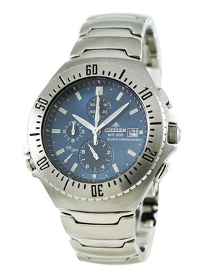 Citizen Promaster Alarm Chronograph Sapphire AN2070-56L Men's Watch