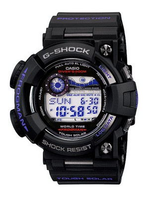 Casio Frogman G-Shock Tough Solar GF-1000BP-1DR GF-1000BP-1 GF1000BP-1 Men's Watch