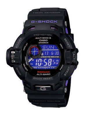 Casio G-Shock Riseman GW-9200BPJ-1JF GW-9200BPJ-1 Dark Purple Men's Watch