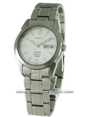 Seiko Titanium Sapphire SGG727P1 SGG727 SGG727P Men's Watch